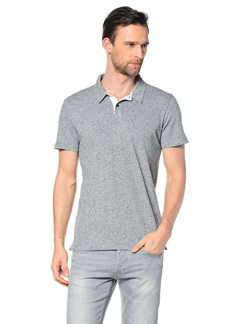Lee Polo Yakalı  Tişört Gri